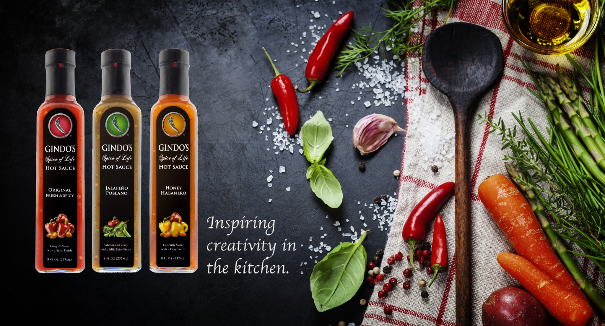 Gindo's Hot Sauce Case Study Image